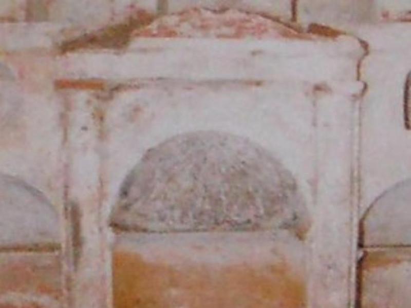 Necropoli in località Cappella, interno di un