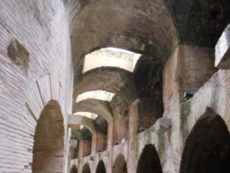 Anfiteatro Flavio, sotterranei