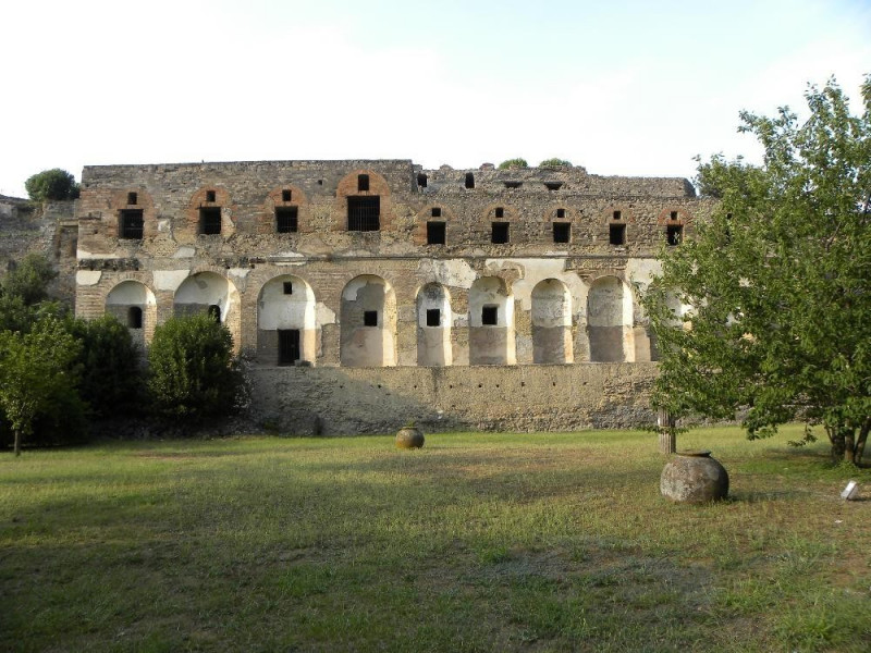 Scavi di Pompei, Costone meridionale