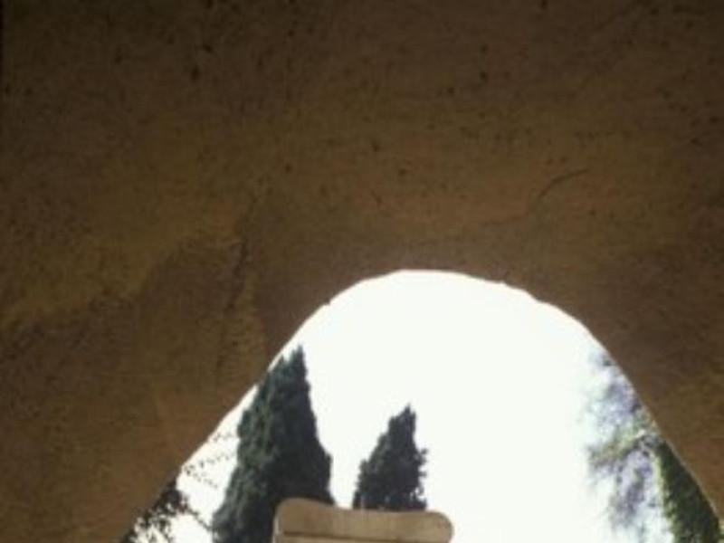 Particolare del mausoleo celebrativo