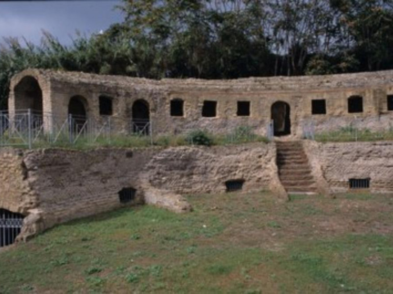 C.d. Tomba di Agrippina, veduta panoramica