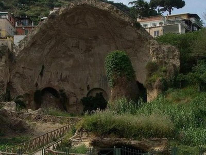 Tempio c.d. di Diana, veduta di dettaglio