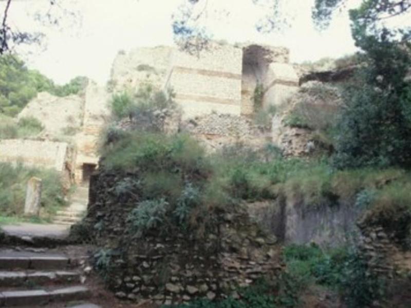 Villa Jovis, veduta dall'esterno