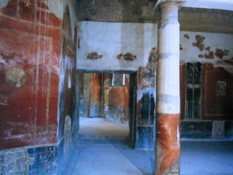Villa San Marco, particolare dell'atrio