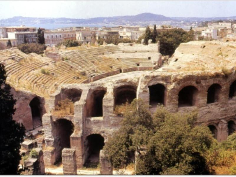 Anfiteatro Flavio, veduta aerea