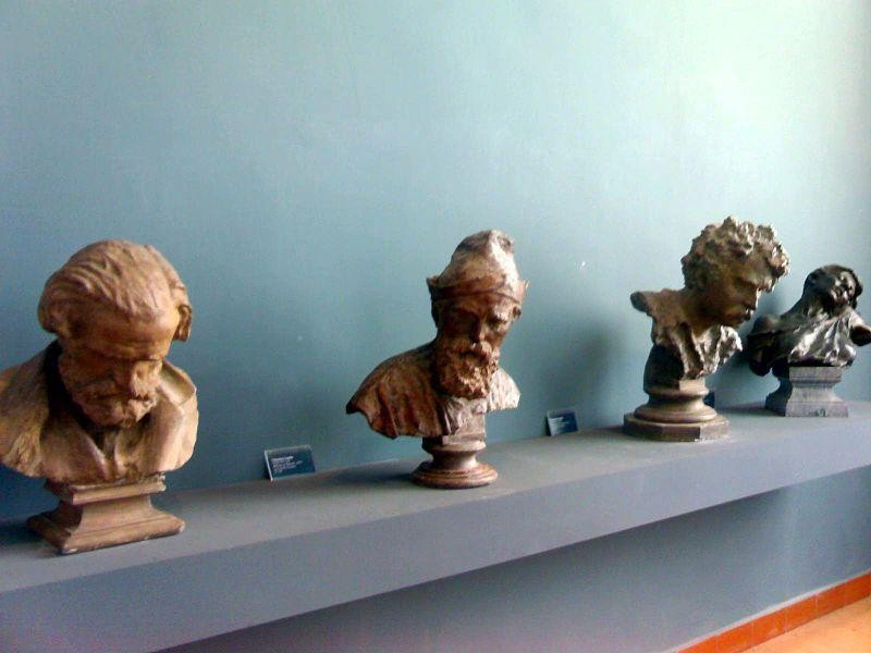 Galleria dell'Accademia di Belle Arti: opere di Vincenzo Gemito