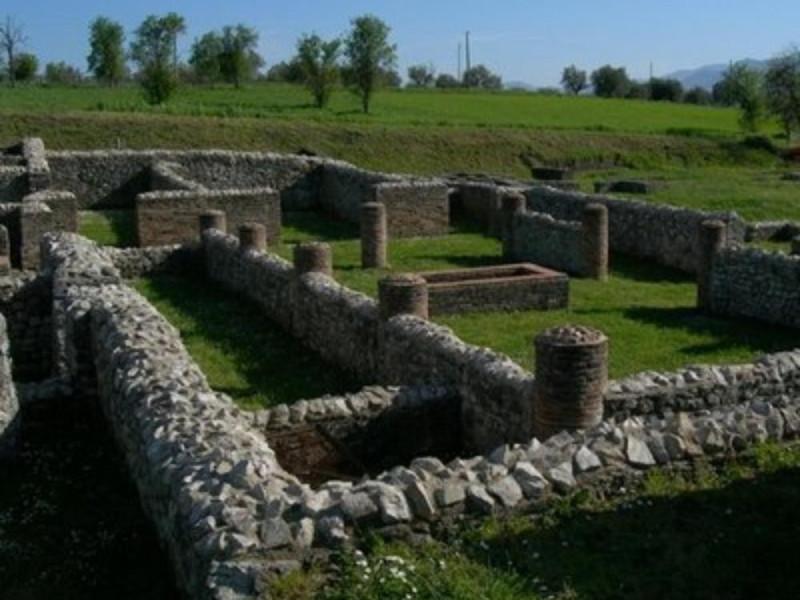 Particolare dell'area archeologica