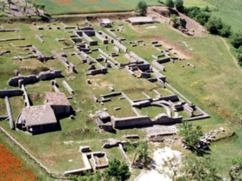 Veduta dell'area archeologica