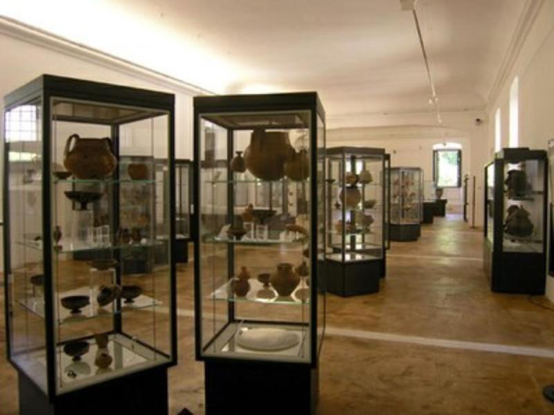 Particolare allestimento museo