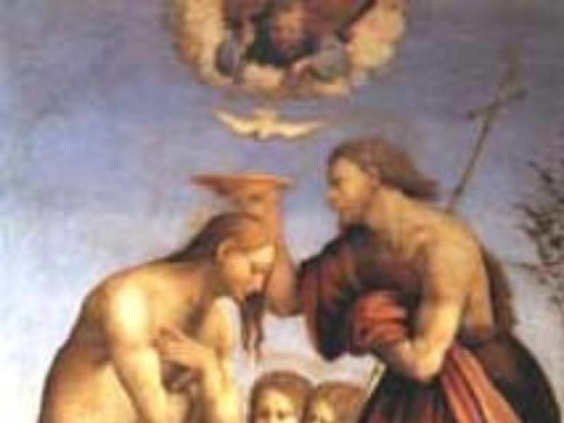 Polittico/Battesimo di Cristo