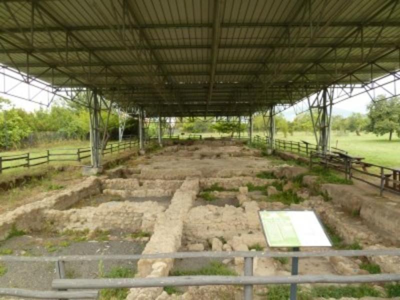 Panoramica dell'area degli scavi