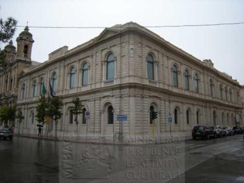 Facciata del Museo archeologico nazionale