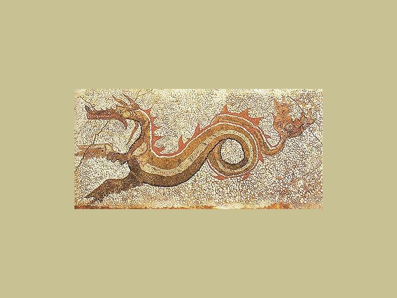Mosaico del drago