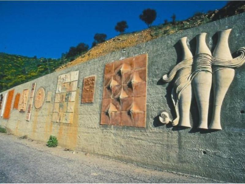 Il muro di ceramica