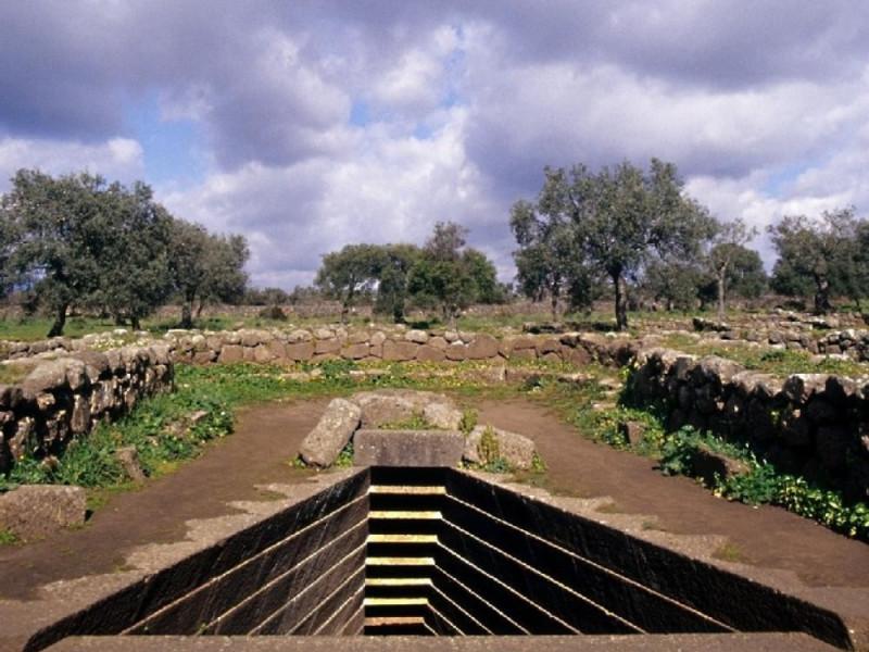 Paulilatino, Area archeologica di Santa Cristina