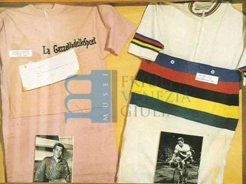 Maglia rosa Anquetil e iridata Rik van Looy 1