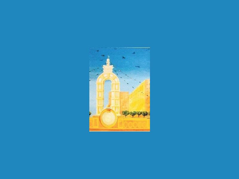 L'arco della Pace una delle opere del Maestro Sciavarello
