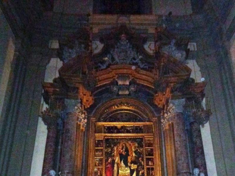 Chiesa di San Domenico: Cappellone della Madonna del Rosario