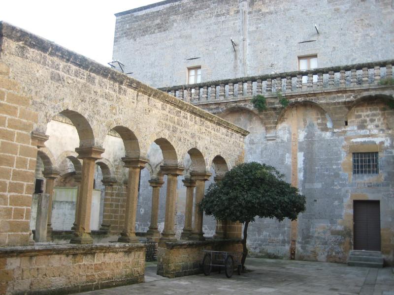 Santuario dell'Annunziata: il chiostro