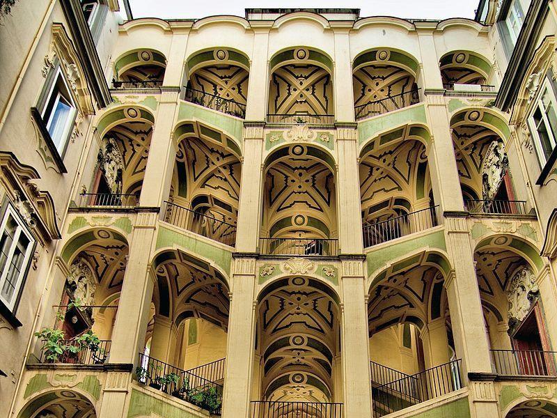 Palazzo dello spagnolo viaggiart for Palazzo in stile spagnolo
