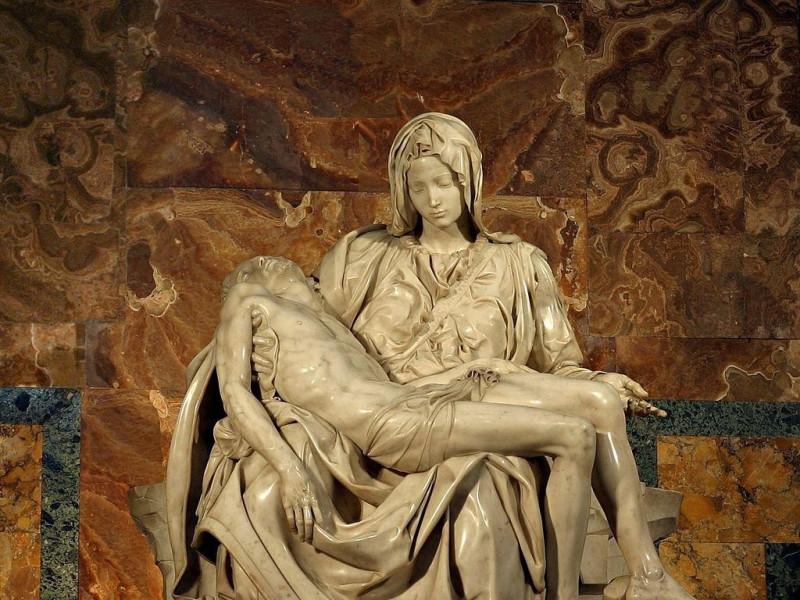 Basilica di San Pietro in Vaticano: Pietà di Michelangelo