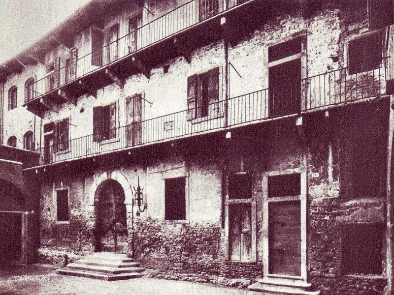 Casa di Giulietta nell'Ottocento
