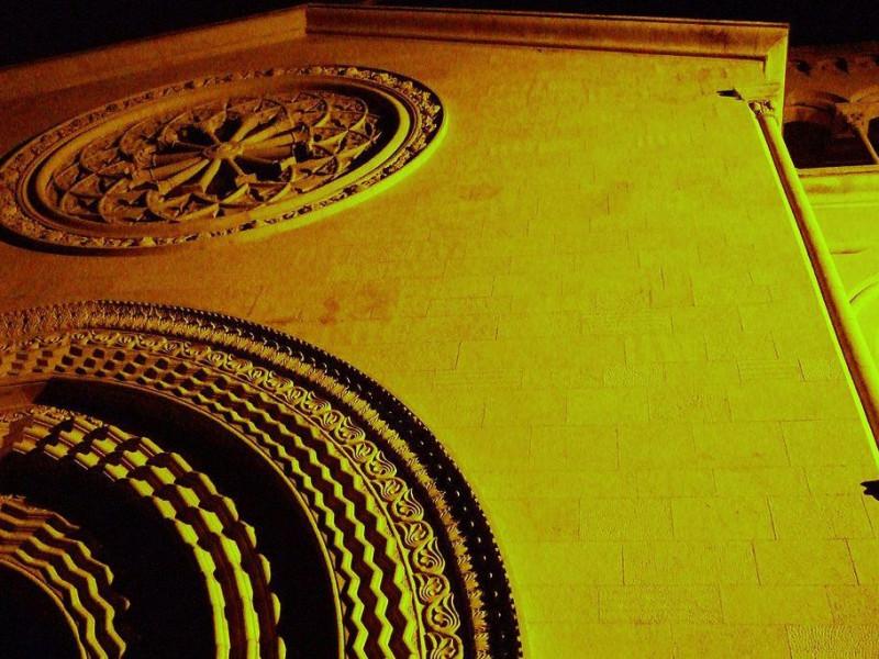 Rosone del Duomo di S. Nicola