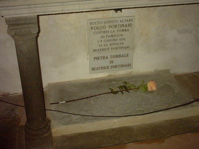 Tomba di Beatrice Portinari