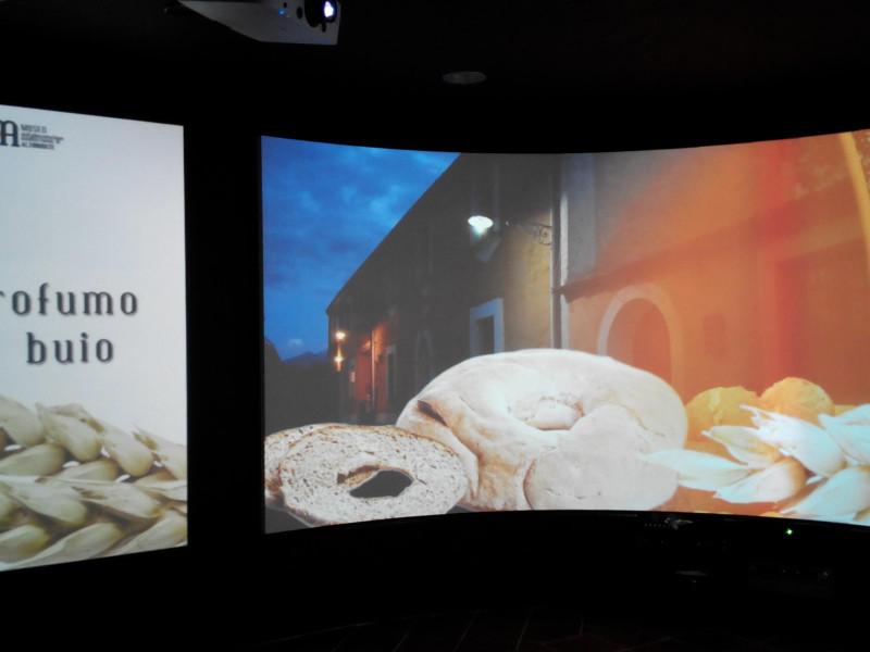 Museo dell'Alimentazione Mediterranea: sala Immersiva