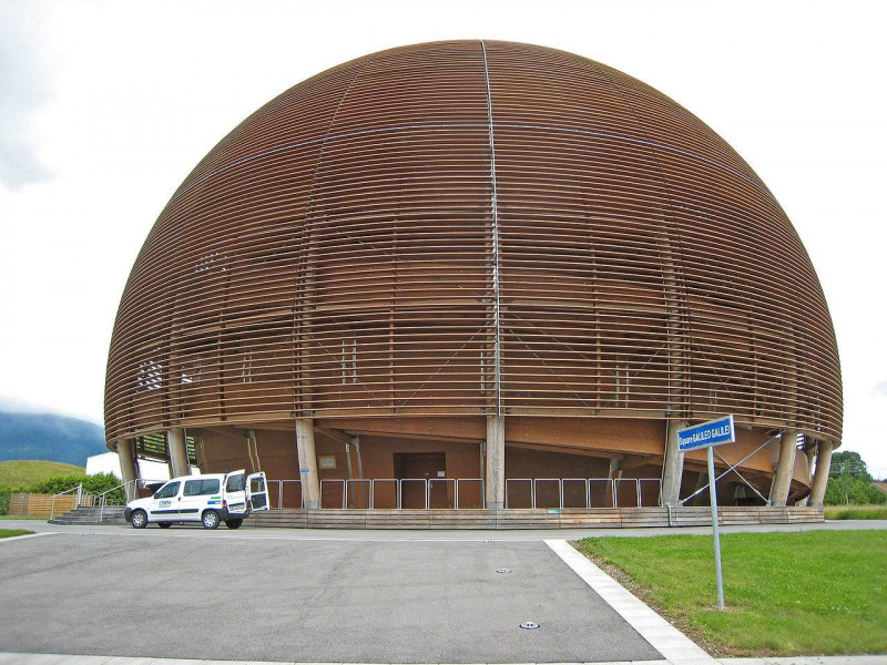 The Globe of Science and Innovation at CERN