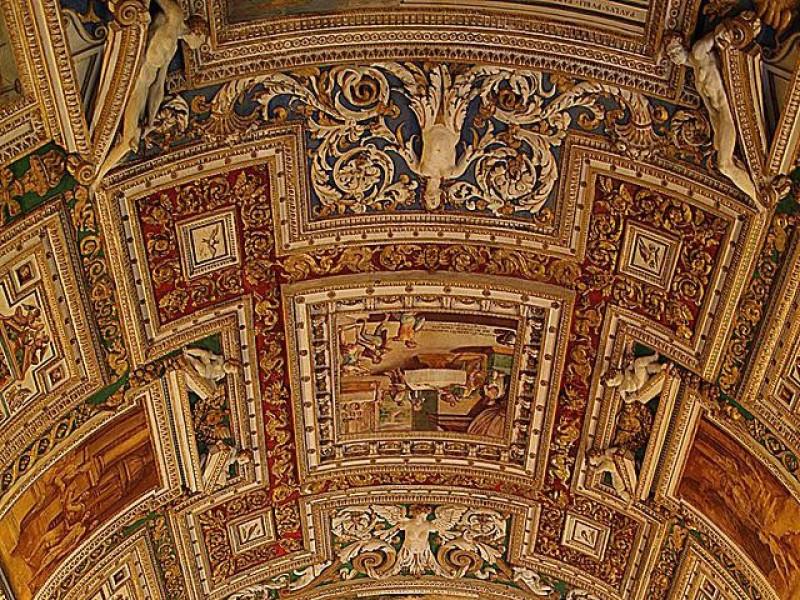Musei Vaticani: Volta della galleria delle Carte Geografiche