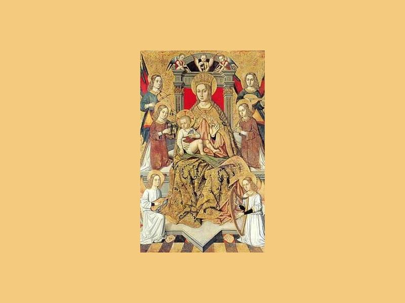 Concattedrale di Sant'Antonio Abate: pala d'altare