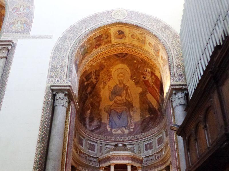 Duomo: abside di S. Placido