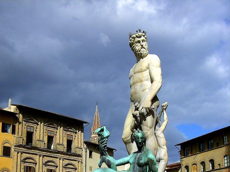 Piazza della Signoria: Fontana del Nettuno (Ammannati)