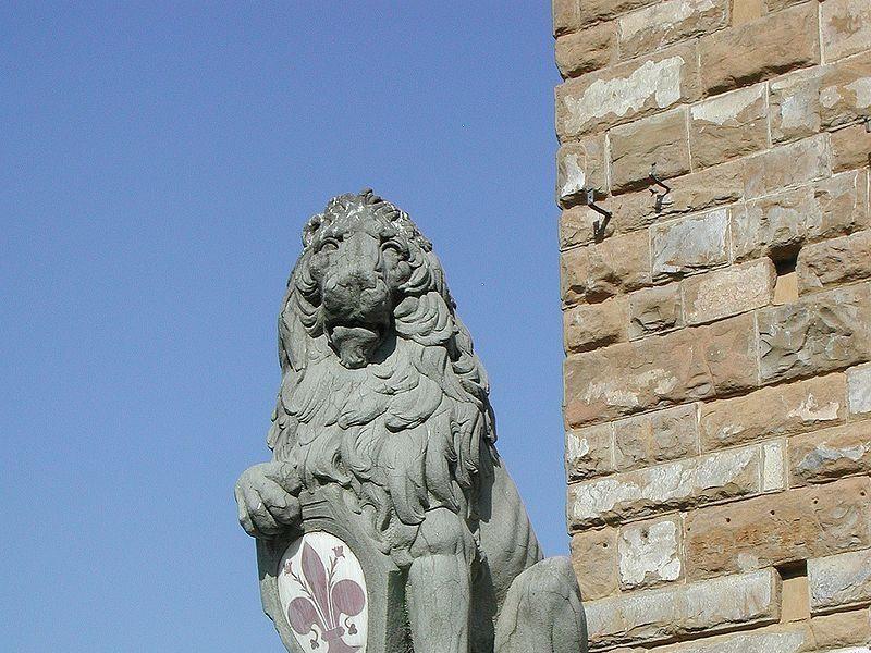 Piazza della Signoria: Marzocco (Donatello)