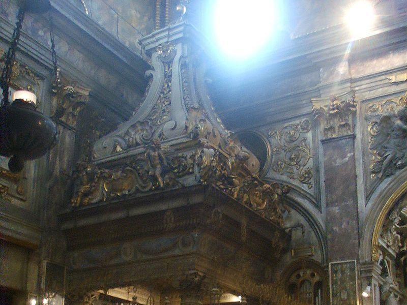 Basilica della Santissima Annunziata: altare dell'annunciazione