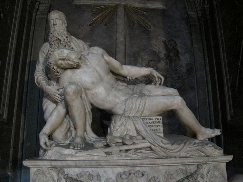 Basilica della Santissima Annunziata: pietà (Baccio Bandinelli)