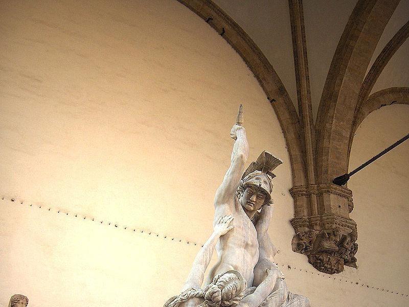 Loggia dei Lanzi: Polissena (Pio Fedi)