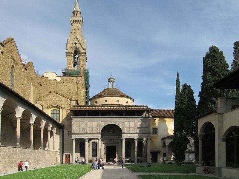 Basilica di Santa Croce: cappella dei pazzi