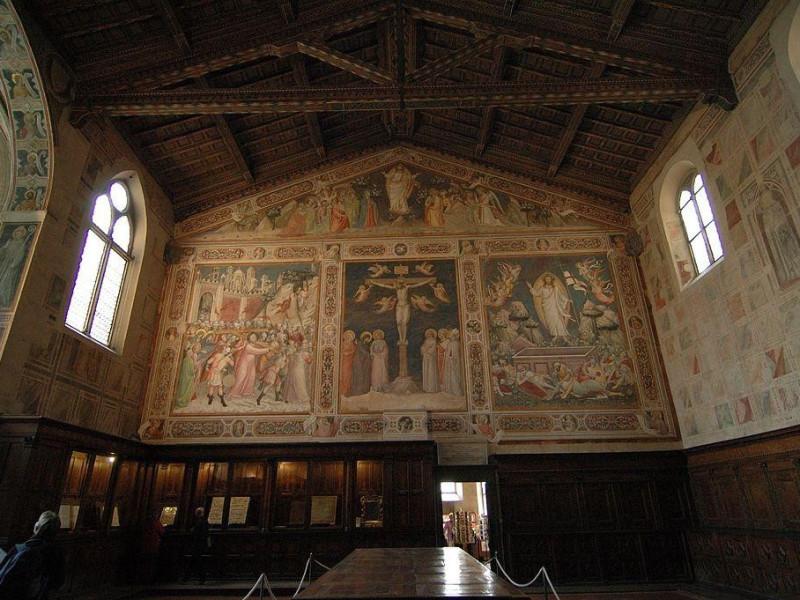 Basilica di Santa Croce: sagrestia
