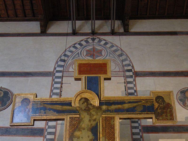 Basilica di Santa Croce: crocifisso (Cimabue)