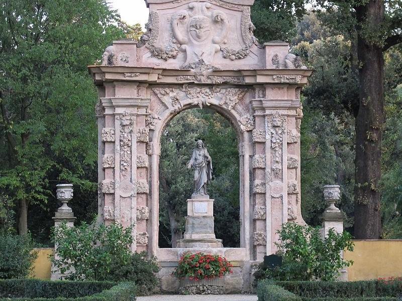 Giardino della Gherardesca: giardino della capponcina