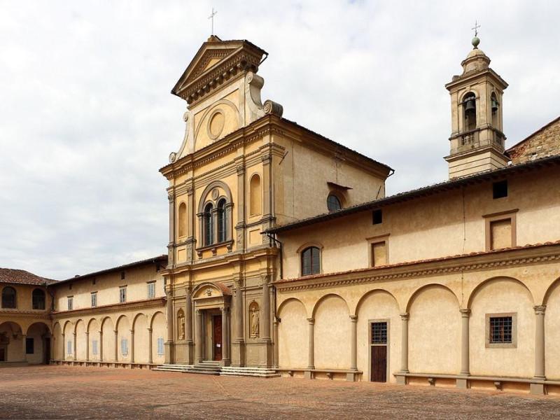 Certosa: chiesa di s. lorenzo