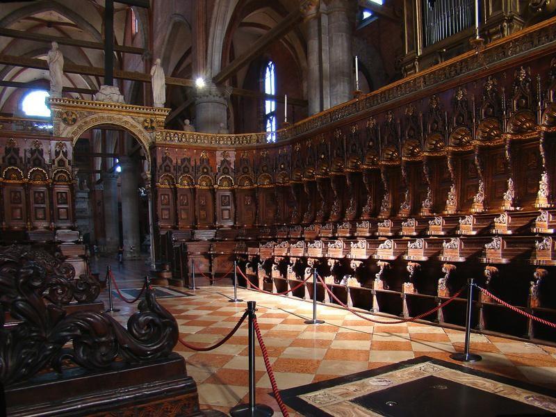Basilica di Santa Maria Gloriosa dei Frari: coro