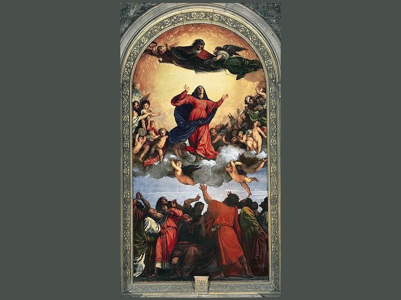 Basilica di Santa Maria Gloriosa dei Frari: assunta (tiziano)