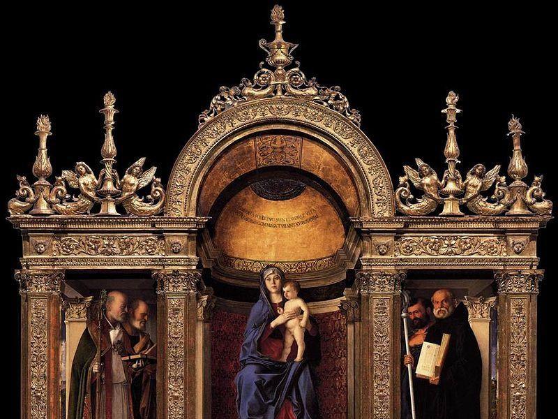 Basilica di Santa Maria Gloriosa dei Frari: trittico dei frari (bellini)