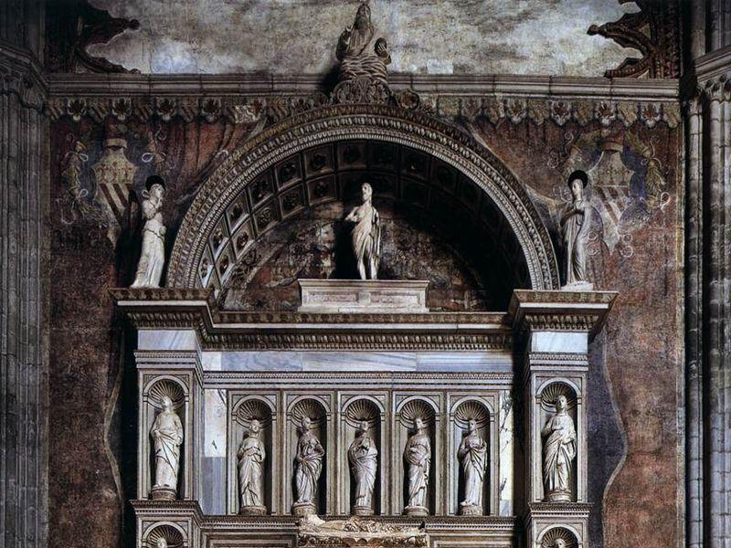Basilica di Santa Maria Gloriosa dei Frari: mausoleo del doge (Rizzo)