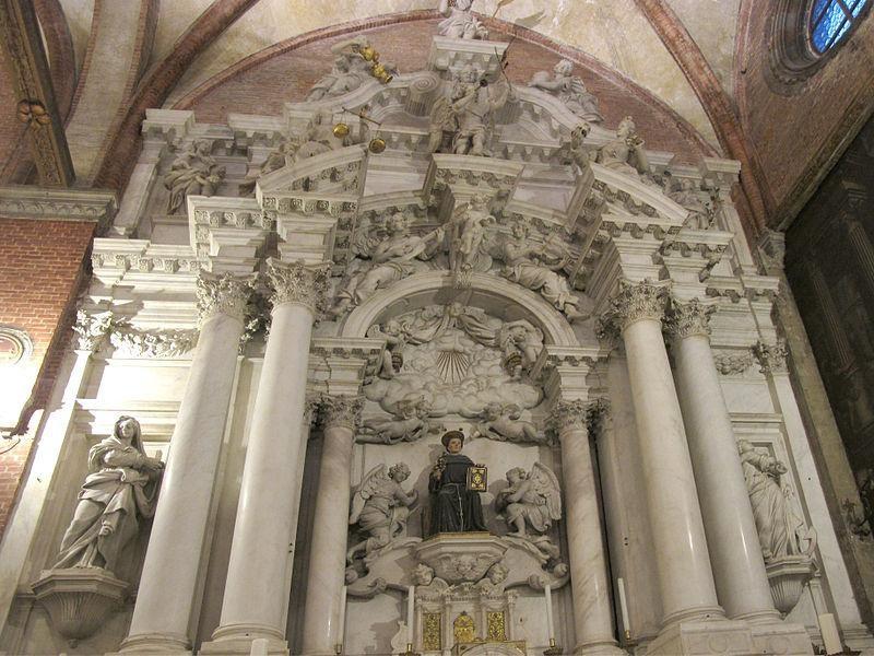 Basilica di Santa Maria Gloriosa dei Frari: altatre di S. Antonio (Longhena)
