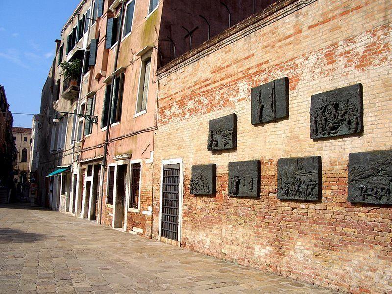 Ghetto di Venezia: monumento alle vittime della shoah