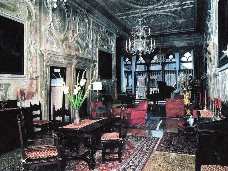 Palazzo Gritti-Badoer: salone di rappresentanza